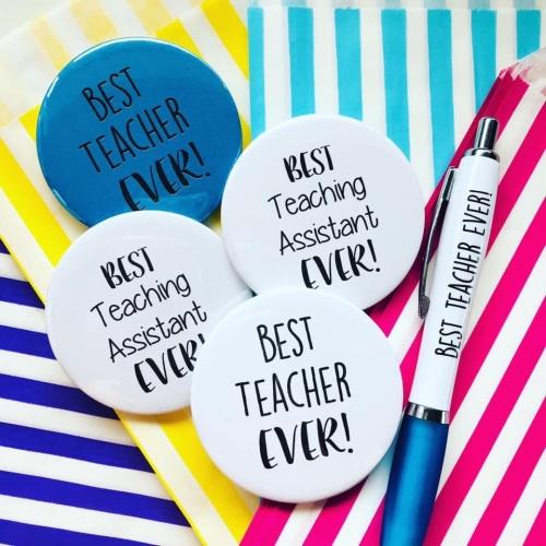 Best Teacher Ever Magnet & Teacher Pen