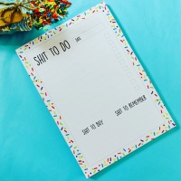 A5 Shit To Do List Pad