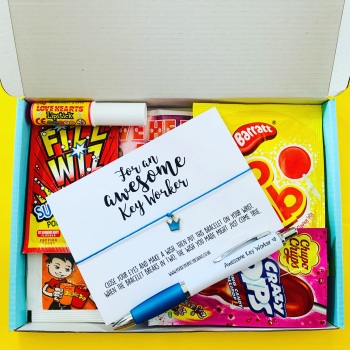 Awesome Key Worker Sweet AF Treatbox