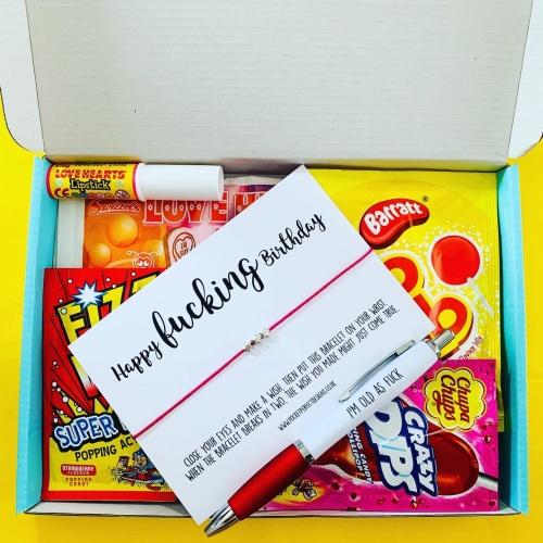 Birthday Sweet AF Treatbox
