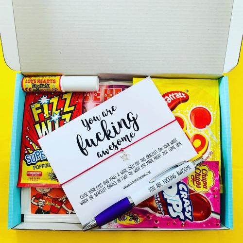 Fucking Awesome Sweet AF Treatbox