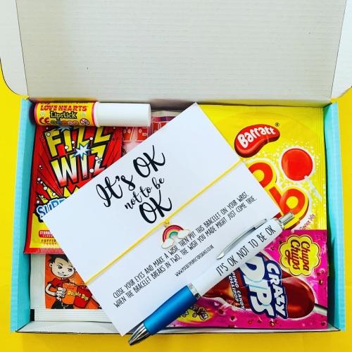 NEW Limited Edition It's OK Rainbow Sweet AF Treatbox
