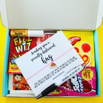 Socially Distanced Hug Sweet AF Treatbox