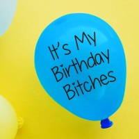 Birthday Bitches Balloon Pack Of 4