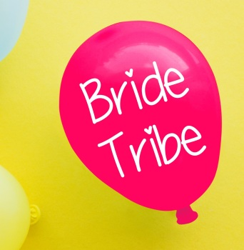 Bride Tribe Balloon Pack Of 4