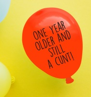 One Year Older Balloon Pack Of 4