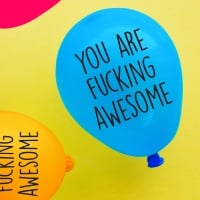 You Are Fucking Awesome Balloon Pack Of 4