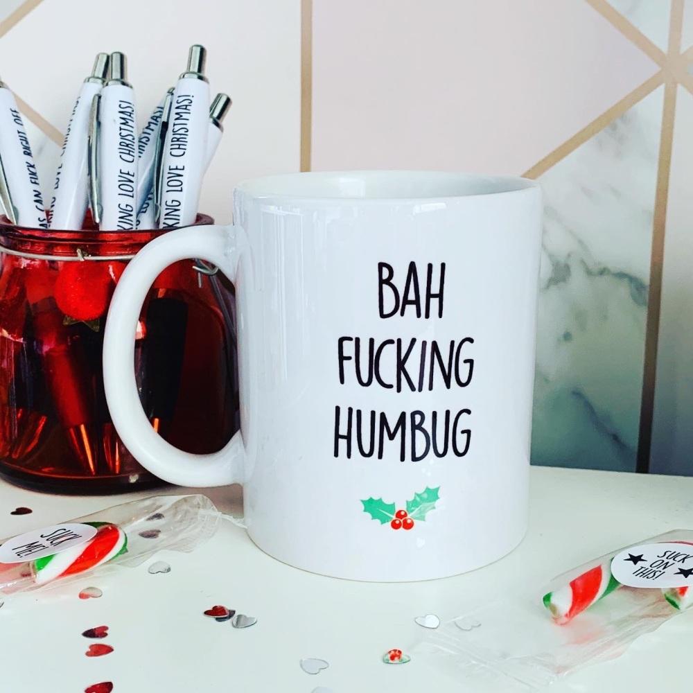 Bah Fucking Humbug Mug