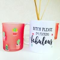 Fabulous Mug Hearts & Stars Design