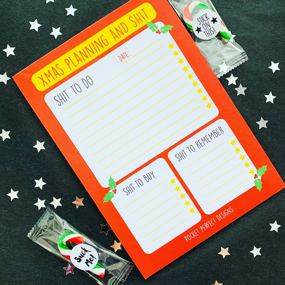 Christmas Planner A5 Pad *PRE ORDER*