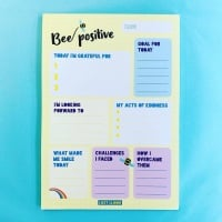 Bee Positive Notepad