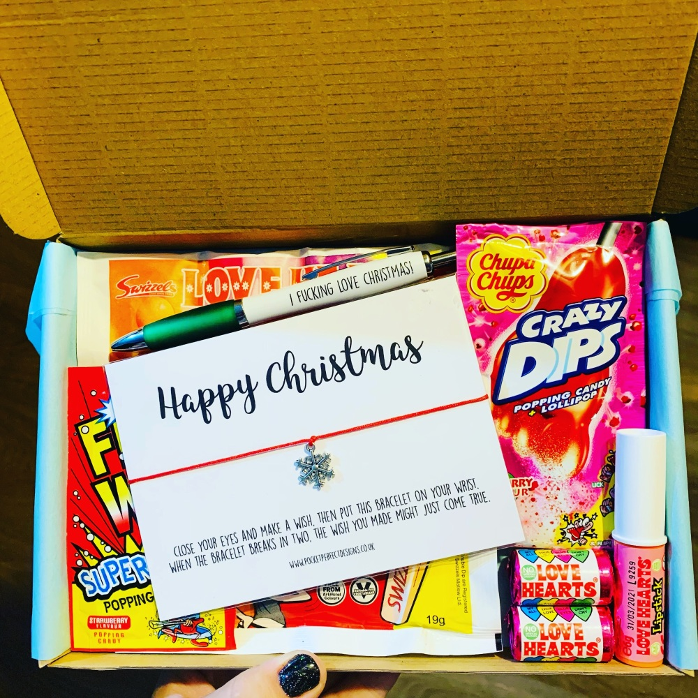 Happy Xmas Sweet AF Box
