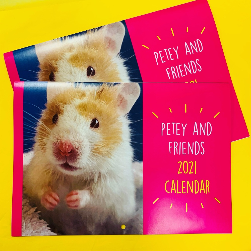 Seconds Petey Calendar