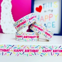 Birthday Sprinkles Washi Tape
