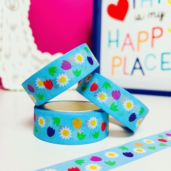 Flowers Washi Tape