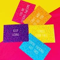 Keep Going A6 Postcard/Print