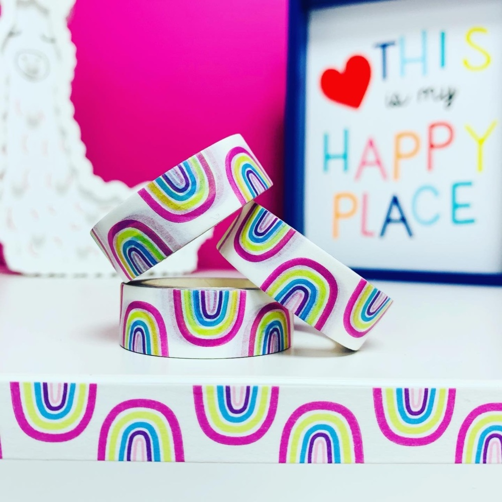 Pastel Rainbow Washi Tape