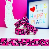 Pink Leopard Print Washi Tape