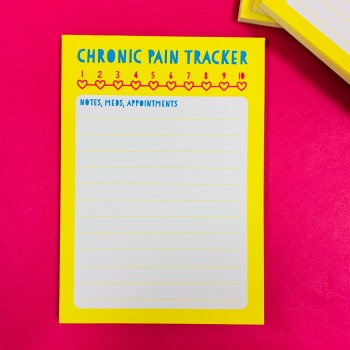 Mini Pain Tracker Pad