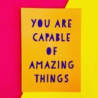 Amazing Things Postcard/Print