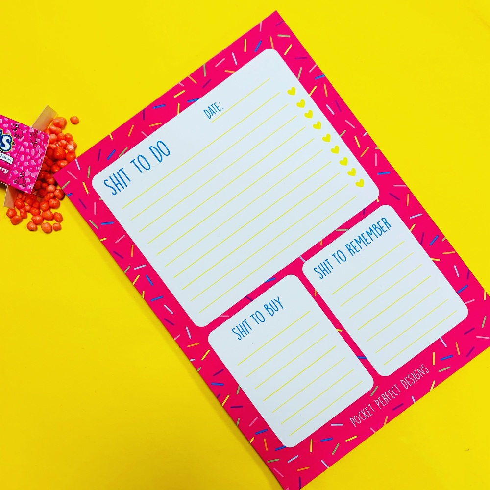 Pink Sprinkles A5 Daily Planner