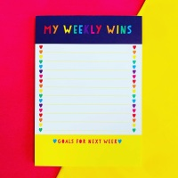 Weekly Wins Notepad