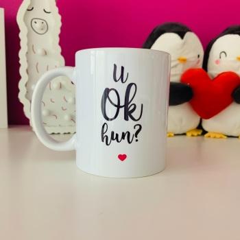 U Ok Hun? Mug