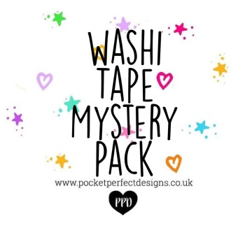 Washi Tape Mystery Pack Of 5