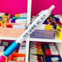 Maybe Swearing Will Help Pen