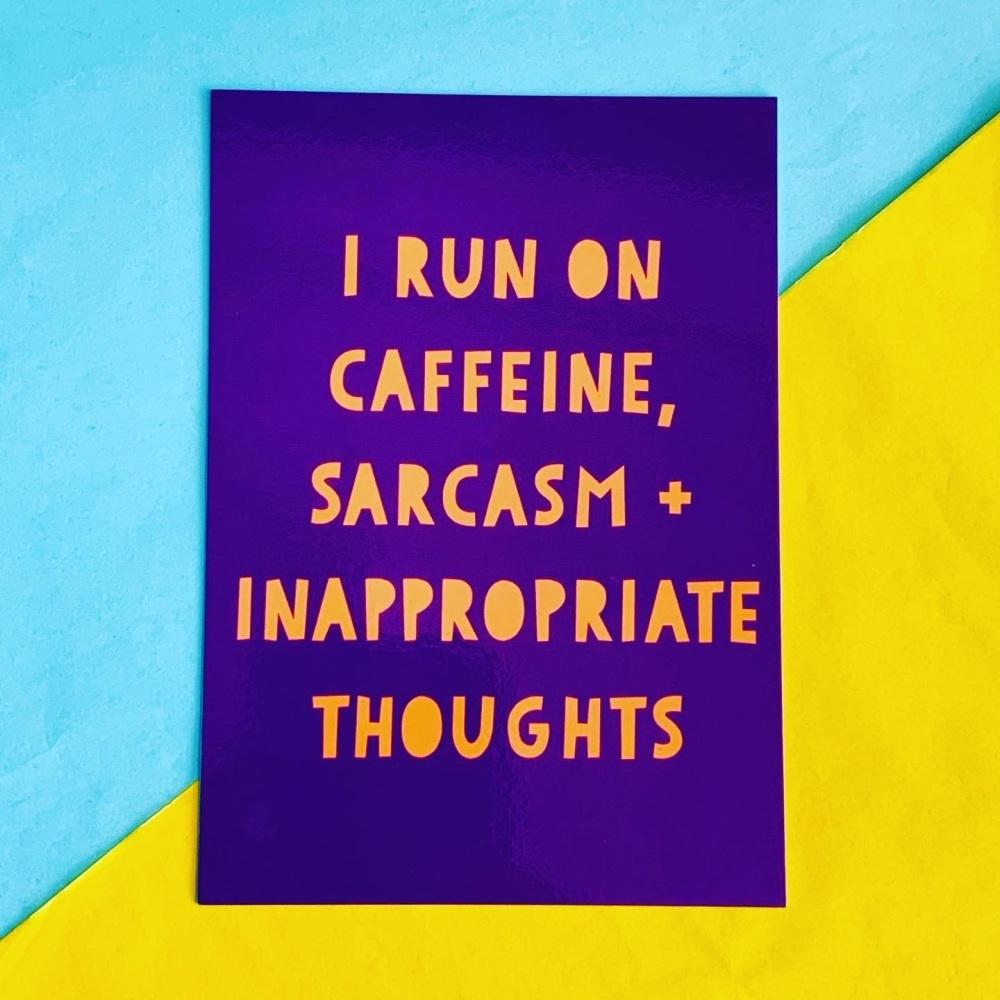 Caffeine Postcard/Print