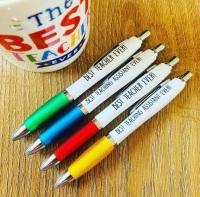 Best Teacher & TA Pen Pack Of 4