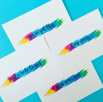 Act Of Kindness For Laura Postcards