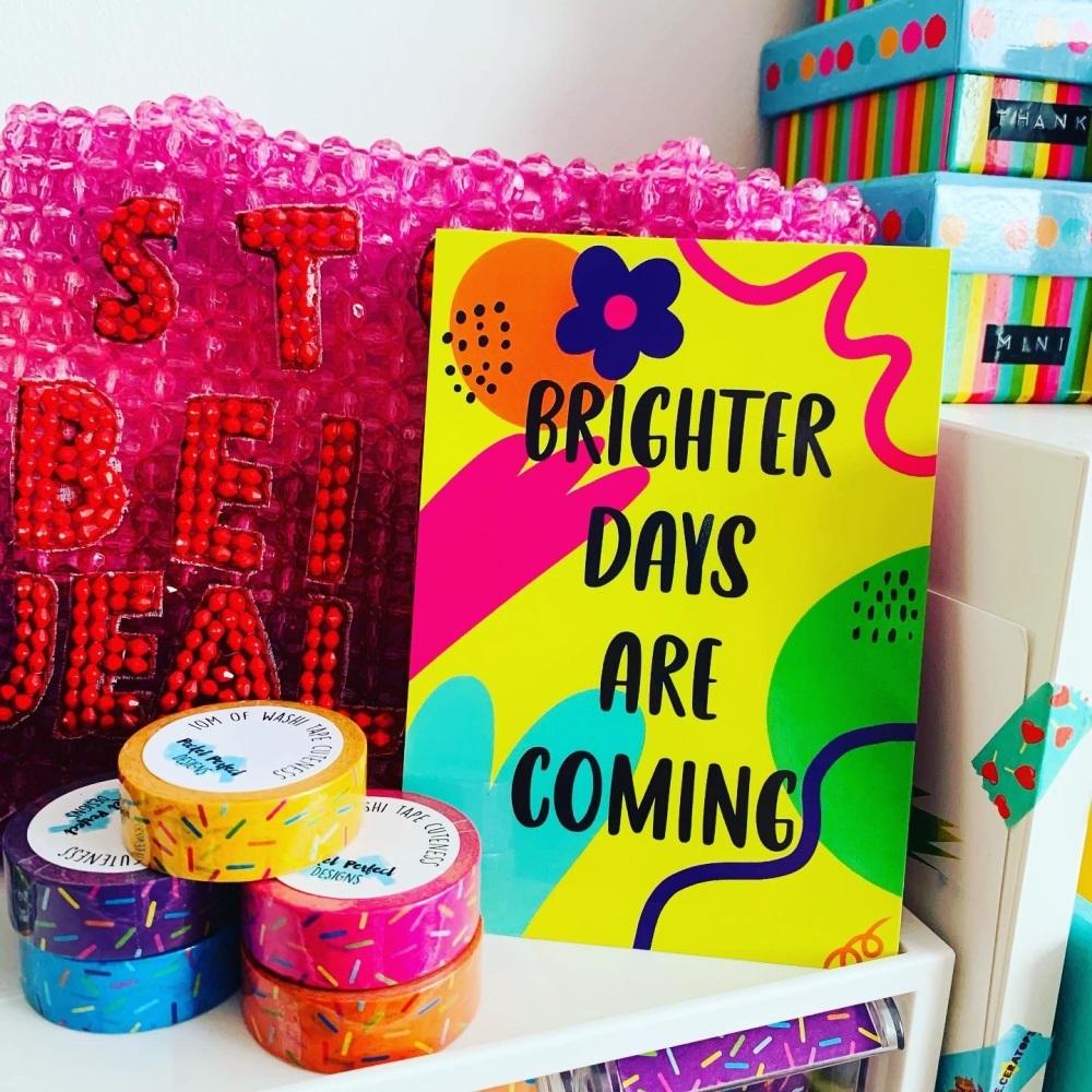 Brighter Days Postcard/Print
