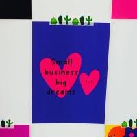 Big Dreams Postcard/Print