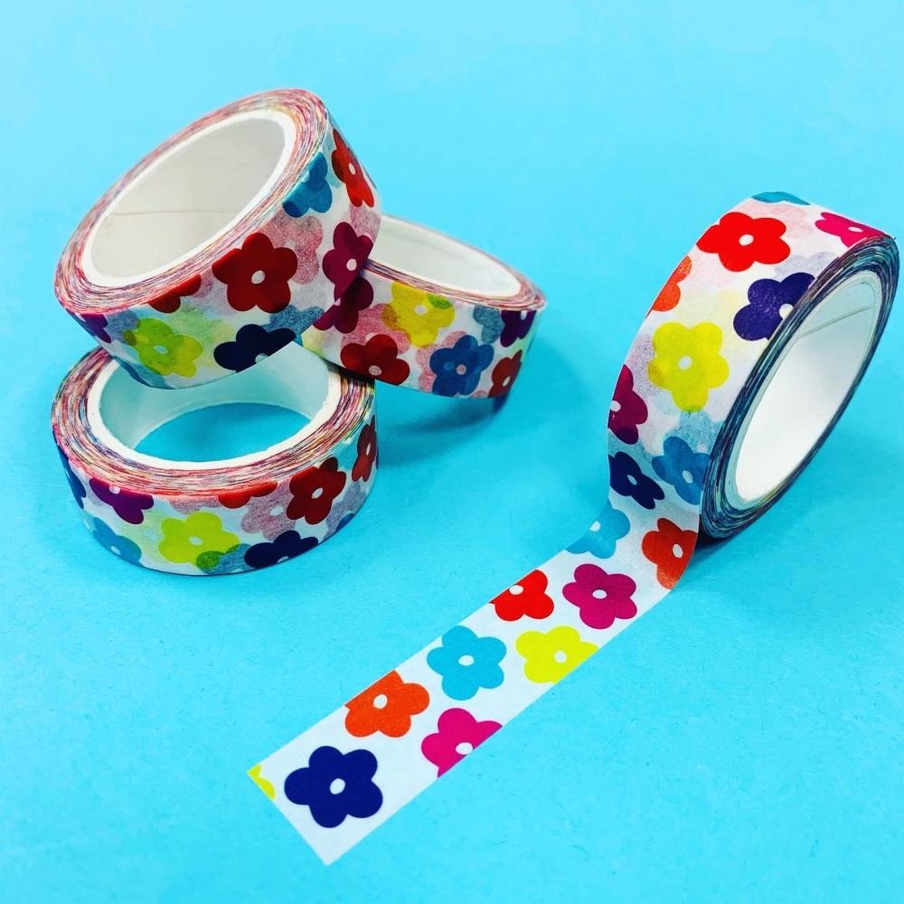 Flower Power Washi Tape