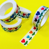 Heart Stem Washi Tape