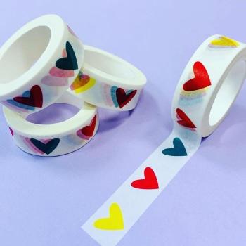 Cute Heart Washi Tape
