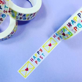 Happy Post Washi Tape