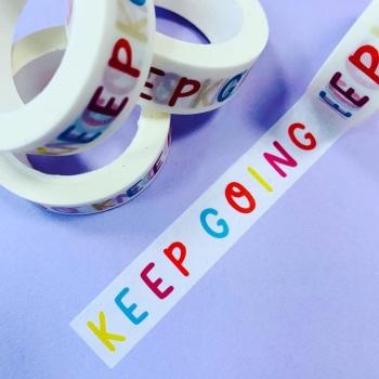 Keep Going Washi Tape