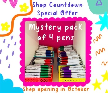 Four Pen Mystery Pack
