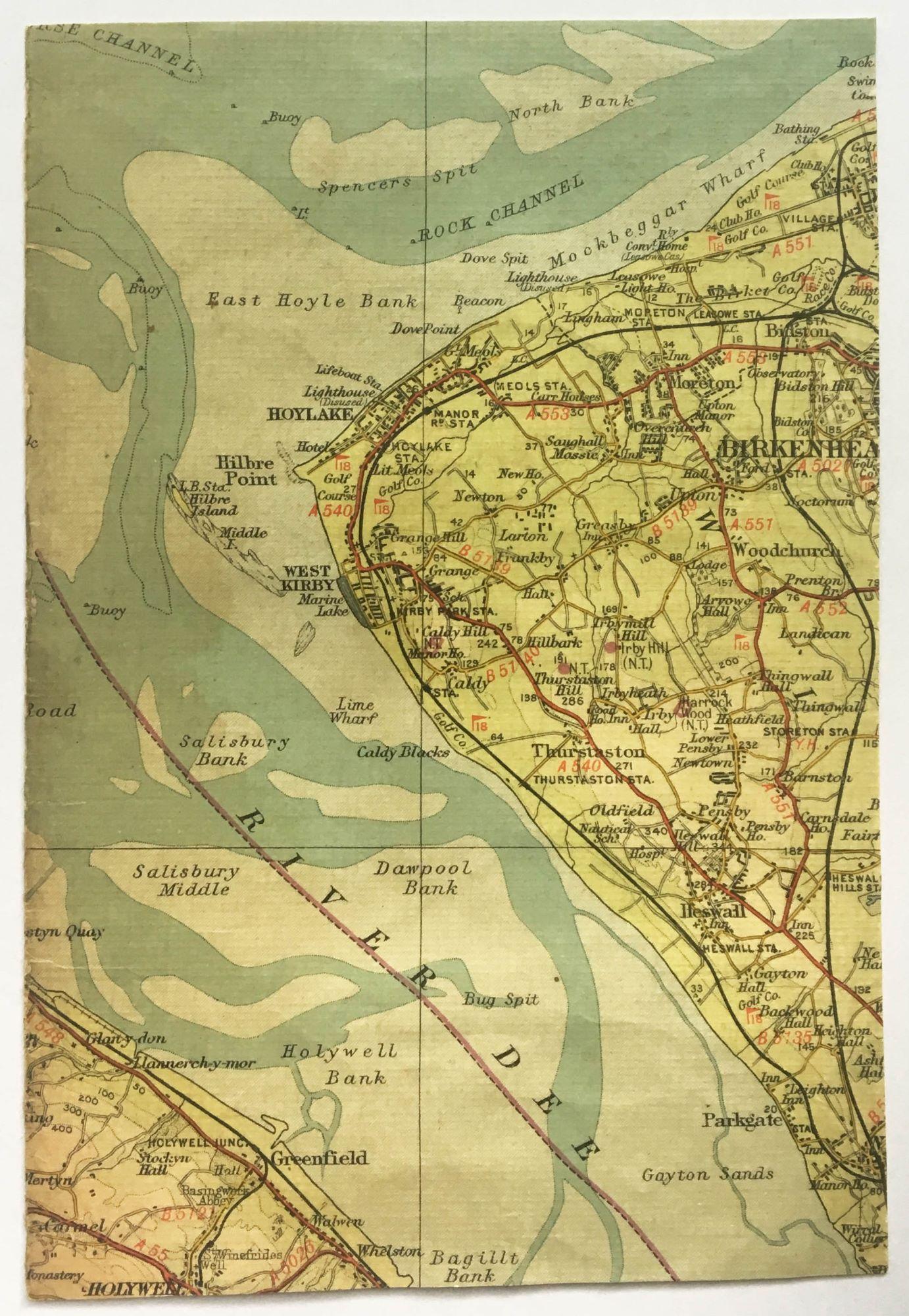 Coastline map