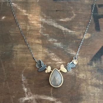Raindrop + Fragments Necklace