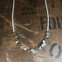 Line of Fragments Necklace