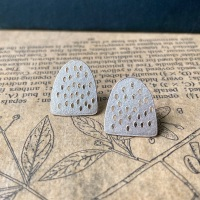 Holey Arc Studs