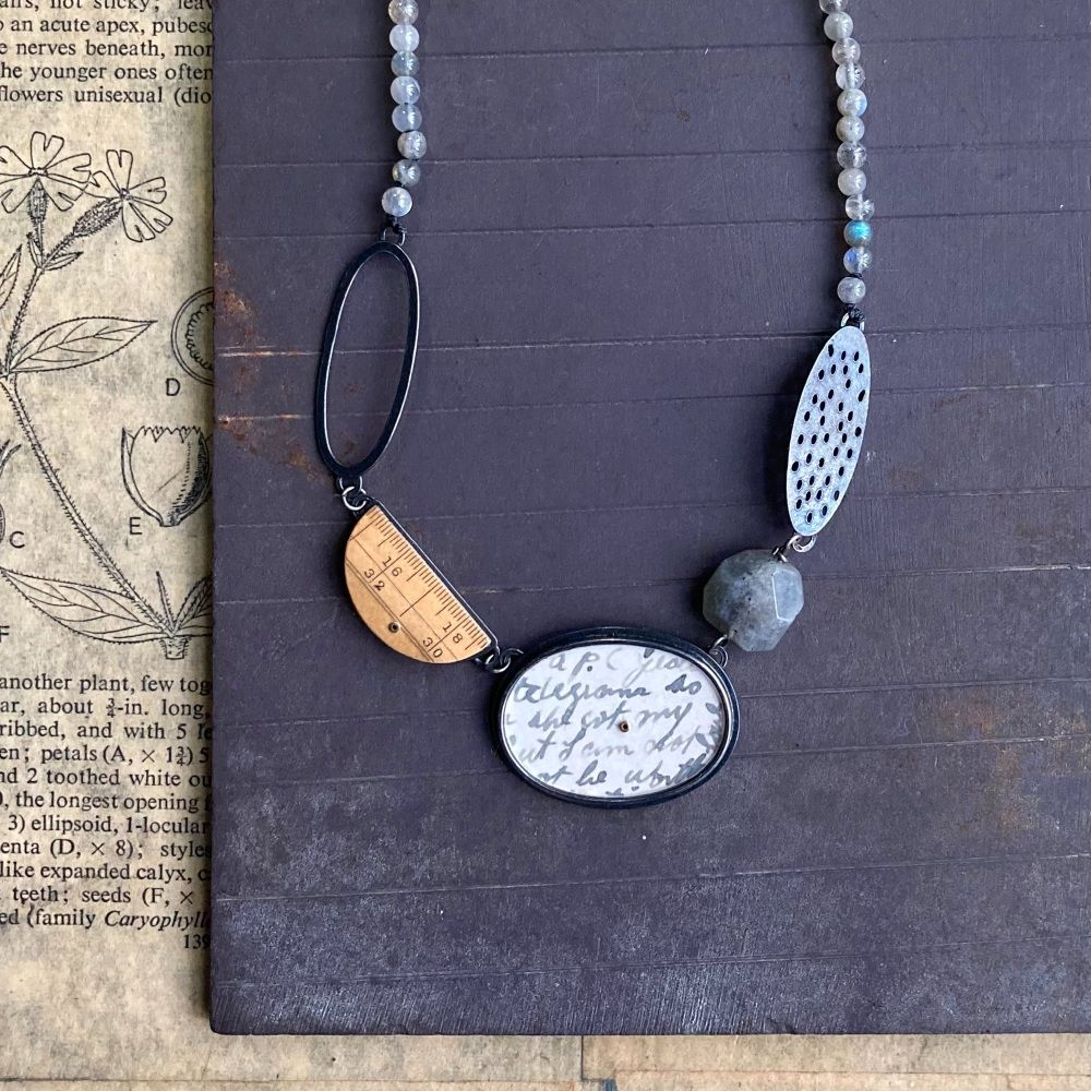 5 Elements Necklace . . . Labradorites