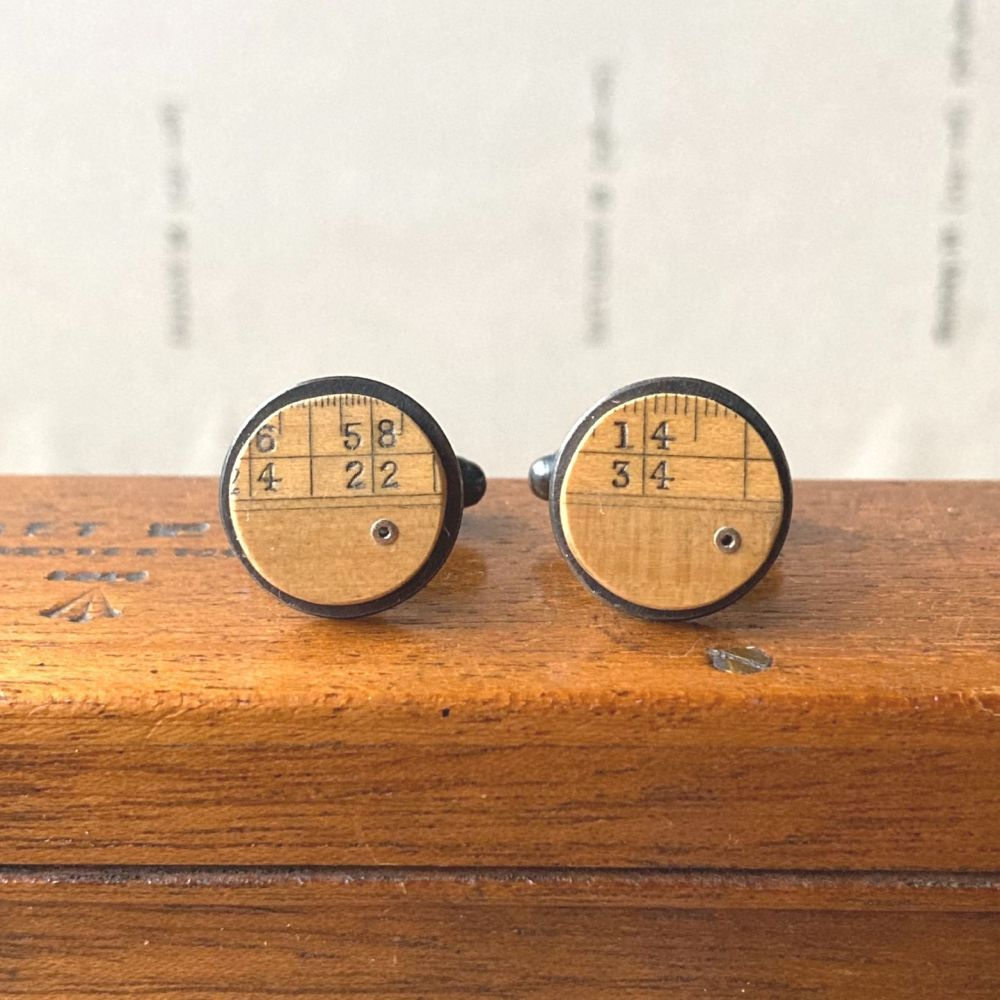 Ruler Dot Cufflinks
