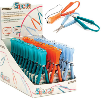 SQUIZZORS THREAD SNIPS - COLOUR SENT AT RANDOM