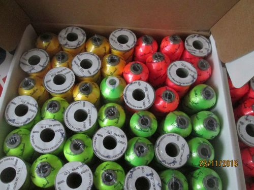 *** NEW *** NEON POLYESTER THREADS - 1000M SPOOLS