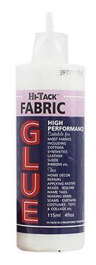 Adhesive: Hi-Tack FABRIC GLUE