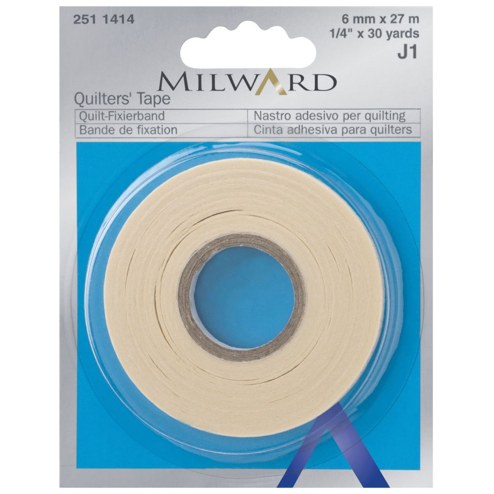 <!-- 002 --> Millward Quilters tape,  6mm x 27m